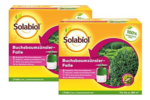 Solabiol Buchsbaumzünsler-Falle, 2er-Set