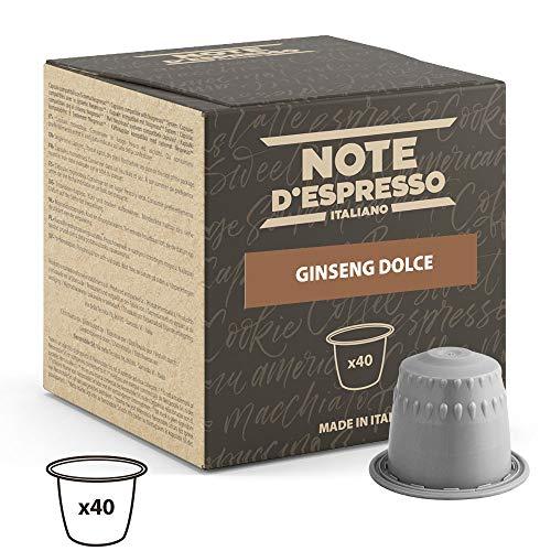 Note D'Espresso - Cápsulas de bebida instantánea de ginsen