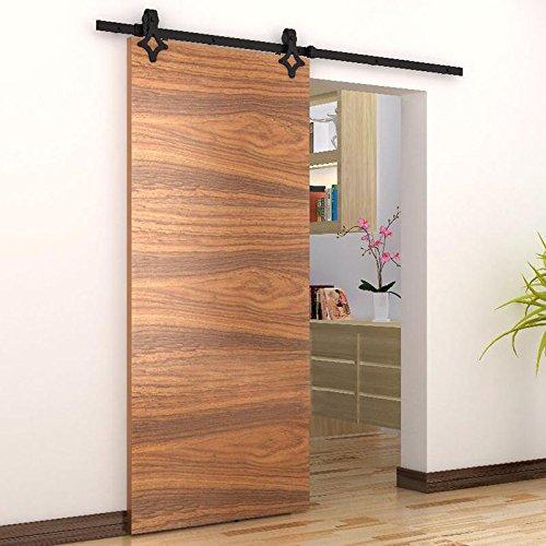 Beschläge für Holzschiebetür, geeignet für Innentüren, 183cm, ModellB
