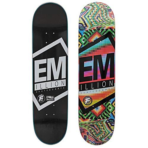 Emillion Fibertech Skateboard Deck Vivid Series 8.0 x 31.5 - Skateboard Deck mit Carbon Beschichtung