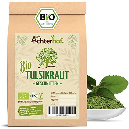 Tulsi Tee Bio (100g) Tulsikraut gerebelt indischer Basilikum