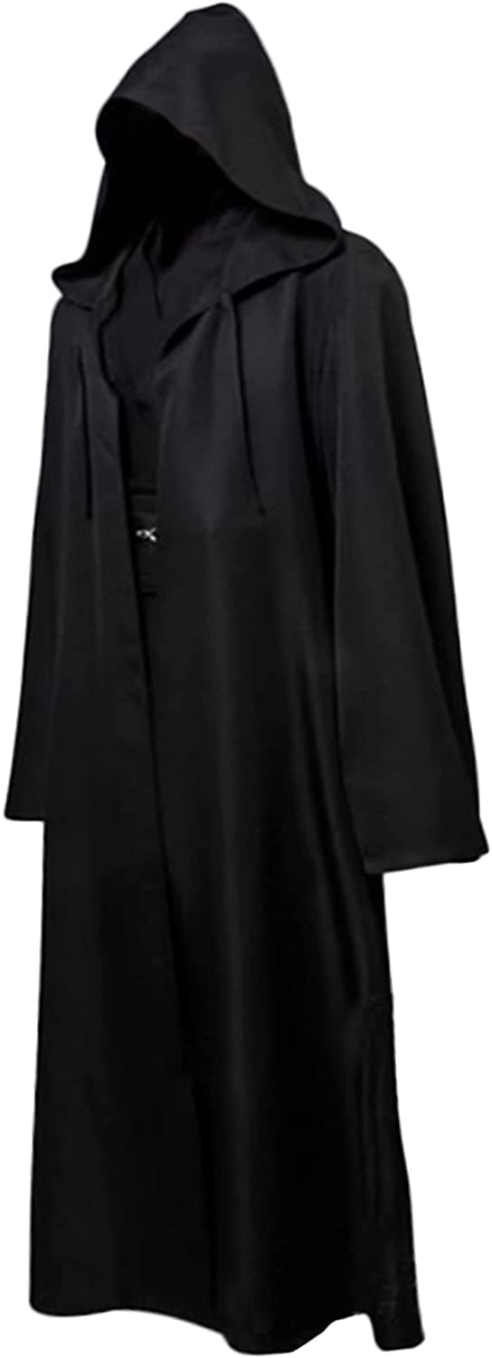 GraduationMall Adult Tunic Hooded Robe Great interest Fancy Knight Cool H Cloak Daily bargain sale
