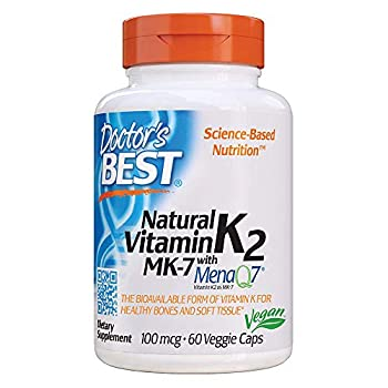 Doctor s Best Natural Vitamin K2 Mk-7 with MenaQ7 60 Count