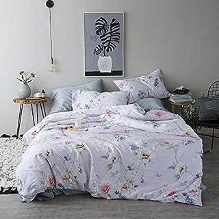 完全な枕カバー寝具セット 60綿のサテンのミニマリストのtanyun綿4セット綿のキルトダブルベッドシングルベッド (色 : 1.8m (6 Feet) Bed, サイズ : Athena)