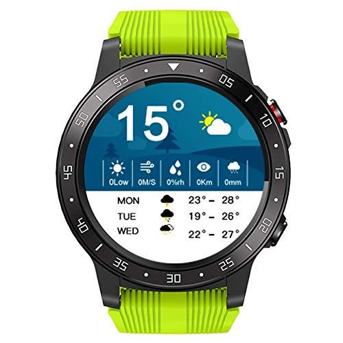 YLKCU Smart Watch Fitness Tracker Deportes al Aire Libre IP67 Relojes Bluetooth a Prueba de Agua con presión Arterial Frecuencia cardíaca Monitor de sueño GPS Podómetro de calorías Cronó