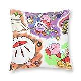 Kirby Star Allies - Almohada de cojín (40 x 40 cm, lona)