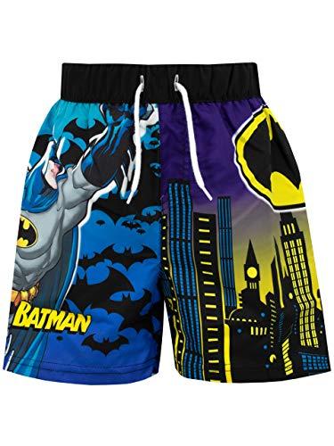 DC Comics Jungen Batman Badeshorts Schwarz 128