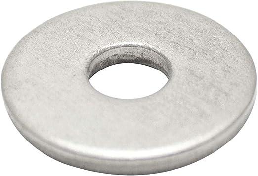 4,3 mm 50 St/ück M4 Unterlegscheiben DIN 9021 Edelstahl A2 V2A VA Beilagscheiben