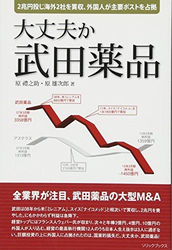 大丈夫か 武田薬品 (2兆円投じ海外2社を買収も利益は激減、高額報酬の外国人が主要ポストを占拠)