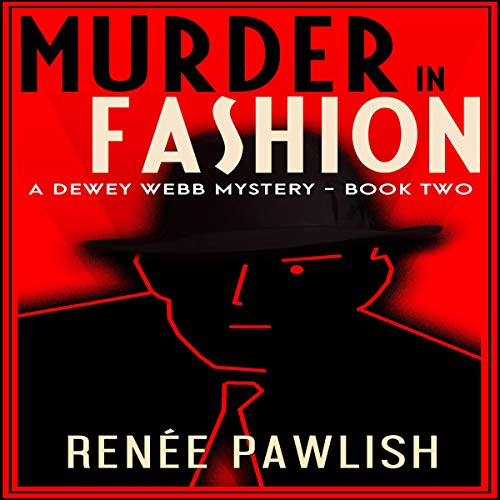 Murder in Fashion audiobook cover art