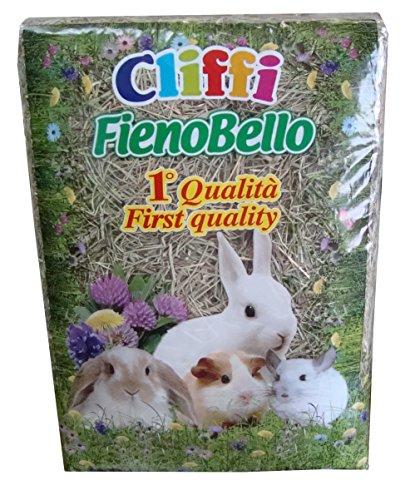 Cliffi Fienobello Foin entièrement Naturel, Riche en Fibre, 1 kg