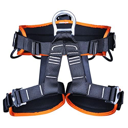 Kit De ArnéS De Seguridad De Escalada En Roca,Medio Cuerpo Trabajo AéReo Cuerpo CaíDa ProteccióN ArnéS Con Almohadilla Para La Cintura Para MontañIsmo Alpinismo ExpedicióN