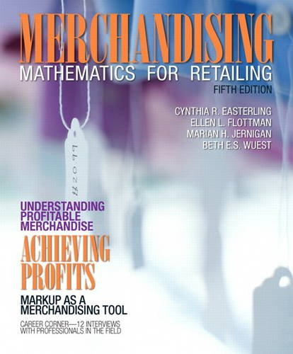 Merchandising Mathematics for Retailing (Myfashionkit)