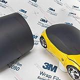 5ft x 1ft (5 Sq/ft) 3M MATTE Black M12 Scotchprint Car Wrap Vinyl Film 1080 Series