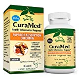 Terry Naturally CuraMed 200 mg - 60 Vegan Capsules - Superior Absorption BCM-95 Curcumin Supplement, Promotes Healthy Inflammation Response - Non-GMO, Gluten-Free, Kosher - 60 Servings