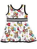Winnie The Pooh Toddler Girls Fit and Flare Ultra Soft Dress (2T, Winnie Toddler)
