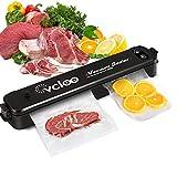 Lebensmittel Vakuumiergerät Vcloo Folienschweißgerät Vakuumierer für die Lebensmittelkonservierung Trockene und feuchte Lebensmittelmodi, Lebensmittel
