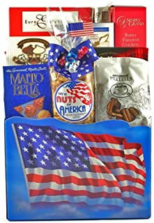 For the Red White and Blue | Fathers Day Gift Basket