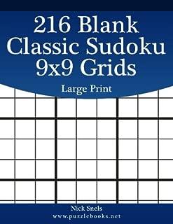 Best large blank sudoku grid Reviews