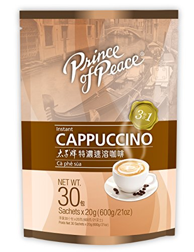 Prince of Peace 3 in 1 Instant Cappuccino (30 Sachets)