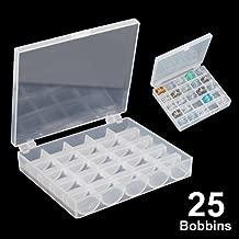 Sonline Organizador Caja de Almacenamiento para Bolillos Bobinas