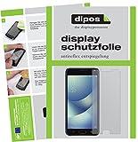 dipos I 2X Schutzfolie matt kompatibel mit Asus Zenfone 4 Max 5,2 Zoll ZC520KL Folie Bildschirmschutzfolie
