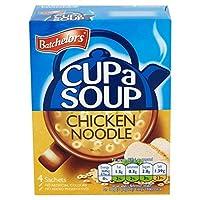 Batchelors Cup a Soup Chicken Noodle 4 Sachets 4 x 23g - (Batchelors) カップスープチキンヌードル4つの小袋4×23グラム [並行輸入品]