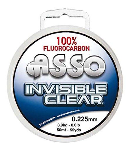 Nylon Asso Fluoro Invisible Clear 30 m 23/100