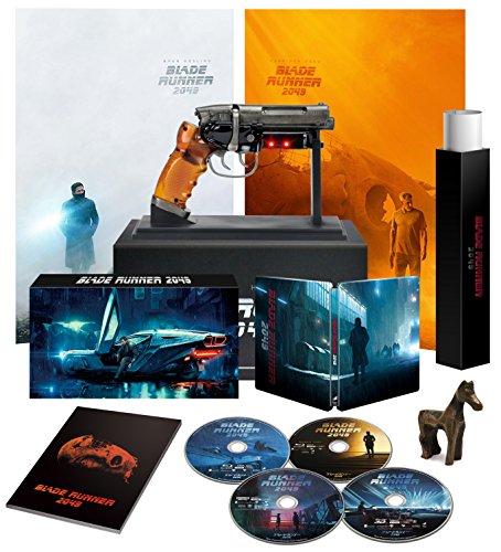 BLADE RUNNER 2049 - 4K ULTRA HD / 3D Blu-ray / 2D Blu-ray / 2D Blu-ray Bonus Disc inkl. Exklusiv Japan Steelbook in luxuriöse Box - Blu-ray