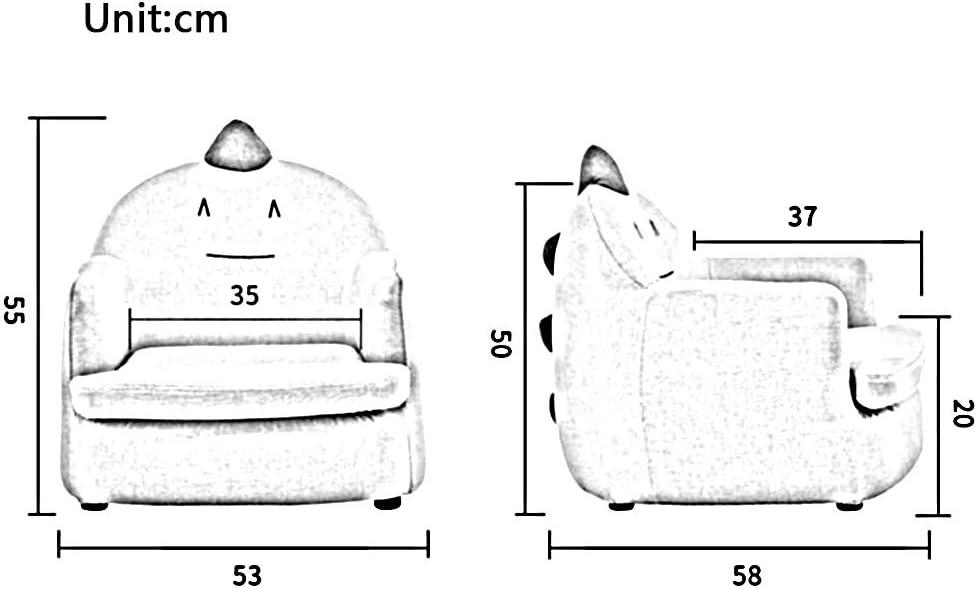 Dall Canapé Enfant Fauteuil Mini Chaise Bébé Dessin Animé Petit Canapé Canapé Enfant (Couleur : T6) T10