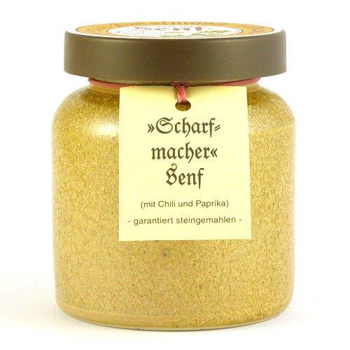 Senfmühle Kleinhettstedt Scharfmachersenf - 270 ml