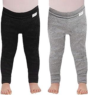 Tiny One Lot de 2 pantalons pour bébé - Pour garçons et filles - En coton biologique - Unisexe