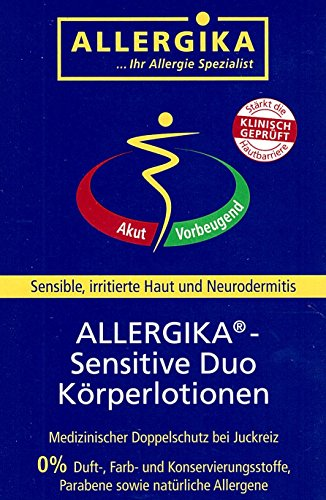ALLERGIKA sensitive Duo Körperlotionen 2X50 ml