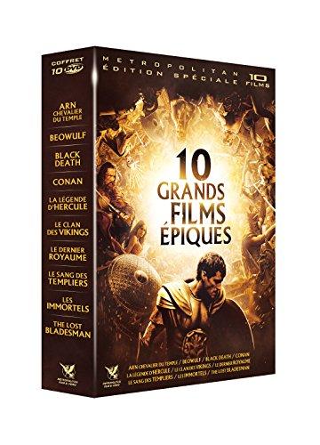 Coffret 10 Grands Films épiques