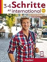 Schritte International Neu - dreibandige Ausgabe: Arbeitsbuch 3 + 4 (A2) + CDs