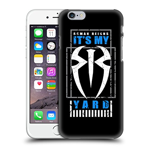 Head Case Designs Officially Licensed WWE Roman Reigns It's My Yard 2 2017/18 Superstars Hard Back Case Compatible with Apple iPhone 6 / iPhone 6s