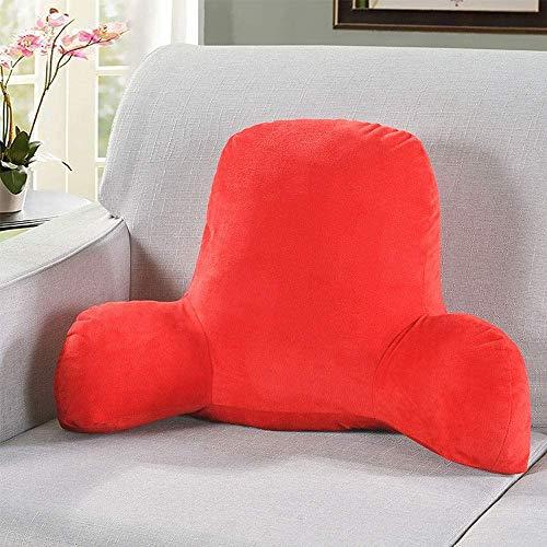 POUAOK Cojín de Soporte Lumbar, cojín de Cintura Elevado, sofá/Silla de Oficina/Almohada Lumbar de cabecera, cojín para Mujer Embarazada.