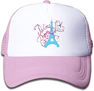 TCJX Pineapple Pug Mesh Baseball Caps Girl Adjustable Trucker Hat Pink