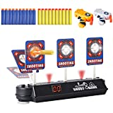 HahaGift Toys for 5-12 Year Old Boys Girls Gifts,Electronic Shooting Target for Nerf Guns Toys for Boys Birthday Gifts for 6-10 Year Old Boys,Scoring Auto Reset Digital Targets for Boy Toys Age 6 7 8