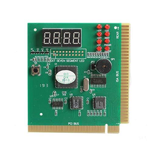 Duradero Pantalla De PC LCD PC De 4 bits Placa Base De La Tarjeta De Diagnóstico Después del Instrumento De Prueba Análisis De La Computadora PCI Card CPU Memoria De Red Hermoso