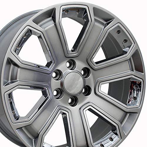 OE Wheels LLC 20 Inch Fits Chevy Silverado Tahoe GMC Sierra Yukon Cadillac Escalade CV93 20x8.5 Rims...