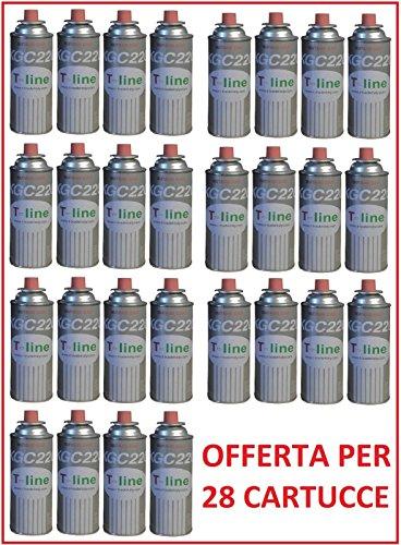 ALTIGASI Cartuccia BOMBOLETTA Gas 250 GR BUTANO GPL Ideale per FORNELLO Bistro ***Offerta 28 Pezzi***
