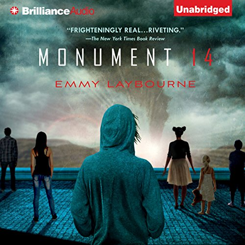 Monument 14 audiobook cover art