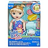 Baby Alive Snackin Shapes: Baby Doll That Eats and €œPoops€ with Pasta Maker, Reusable Doll Food