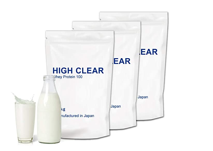いちゃつくマンハッタンであること【3kg?お得用】WPCホエイプロテイン100 1kg×3個=3kg (120食分)あっさりミルク風味(ハイクリアー)