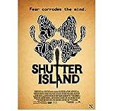 ZOEOPR Poster Shutter Island Poster Klassiker Filmplakat