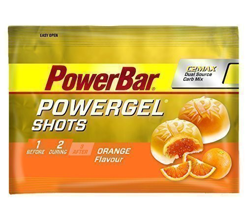 PowerBar Ride Shot 4 x 60g Beutel Orange