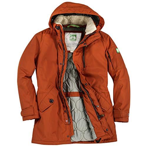 Redpoint Parka große Größen orange Earl, deutsche Größe:60