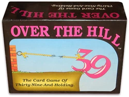 OVER THE HILL - The Card Game of Thirty-Nine-and-Holding by GameWorks