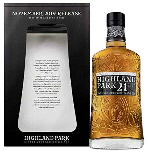 Highland Park Whisky 21 Jahre November 2019 Release 0,7l